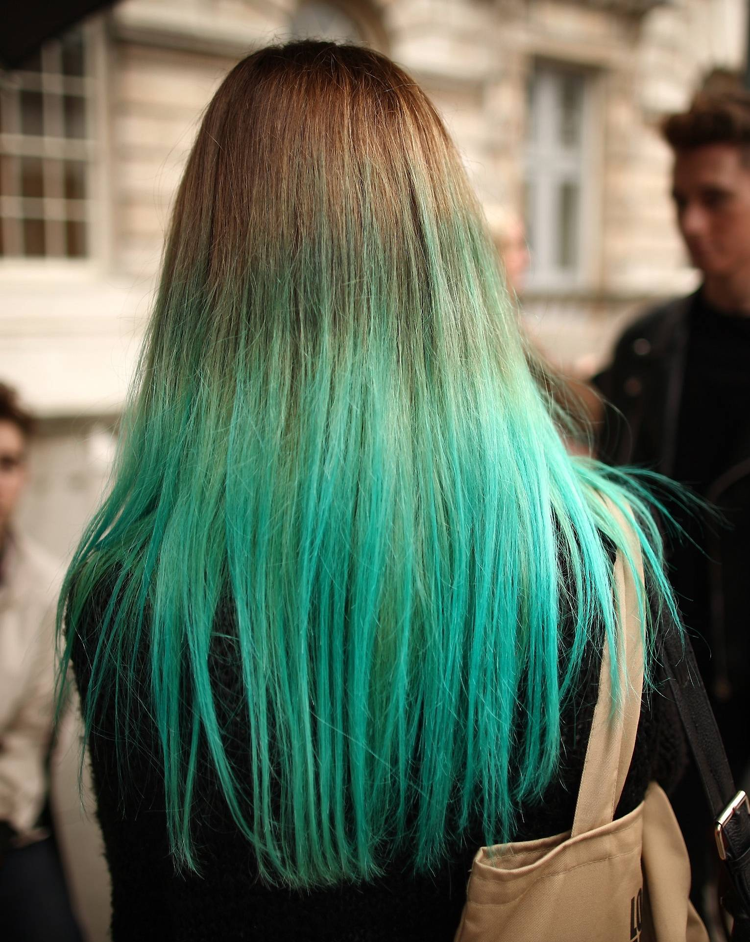 Tip Dye Hair Sinem Karisir